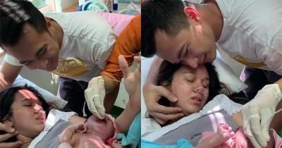 Lewat Persalinan Normal, Istri Eza Gionino Melahirkan Anak Pertama