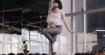 Ini 5 Manfaat Baik Menggendong Bayi Posisi M-Shape