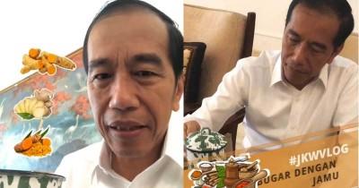 Wajib Coba Presiden Jokowi Bagikan Resep Jamu Kebugaran Tubuh