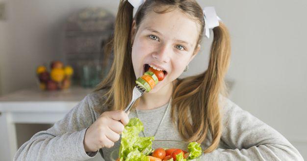 5. Tawarkan berbagai pilihan makanan sehat