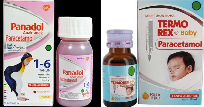 7 Rekomendasi Merek Obat Demam Anak 1 tahun yang Dijual di Apotek