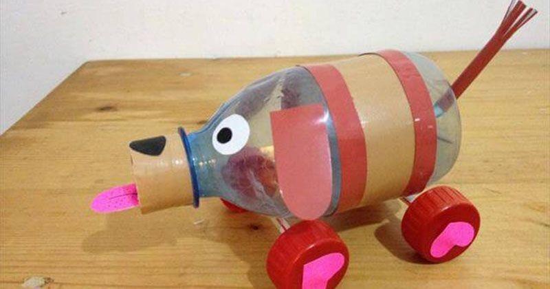 Cara Mudah Membuat Mainan Mobil Mobilan Untuk Anak Dari Botol Plastik Popmama Com