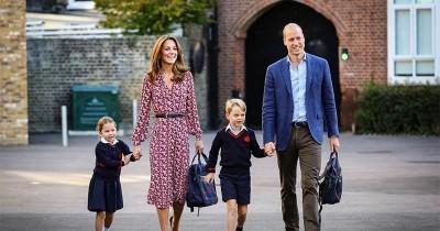 Momen Spesial Kate Middleton Temani Anak Hari Pertama Sekolah