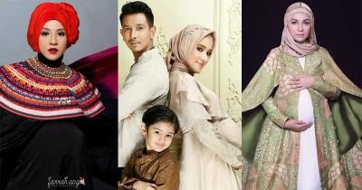 10 Ide Foto Maternity Hijab a la Artis dan Selebgram Tanah Air