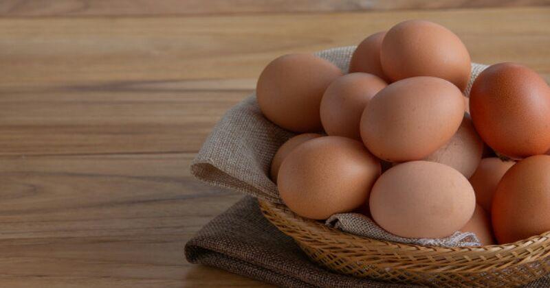 1. Mengecek kesegaran telur sebelum diolah menjadi adonan kue