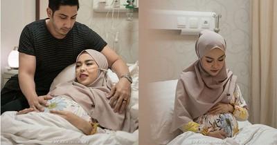 Pejuang IVF Medina Zein Melahirkan Anak Kedua Tanggal Cantik