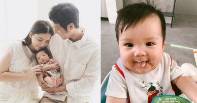 Tunjukan Tanda Siap Makan, Anak Putri Titian MPASI Usia 5 Bulan