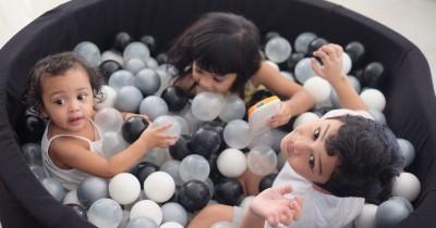 10 Potret Kekompakan Anak-Anak Artis Dibiasakan Sejak Kecil