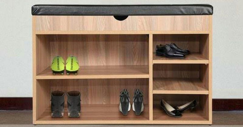 5. Keberadaan rak sepatu bisa menghemat banyak tempat