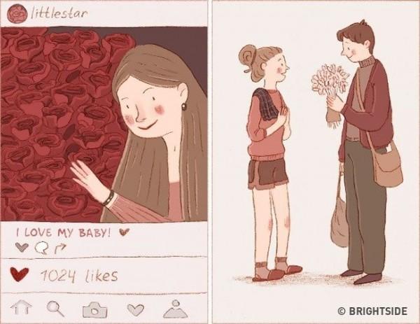 15 Ilustrasi Yang Bedakan Nafsu Dan Cinta Sejati Pernah Mengalaminya Popmama Com