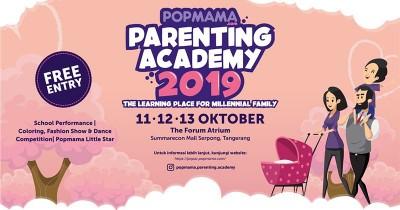Popmama Parenting Academy 2019, Tempat Belajar Keluarga Milenial