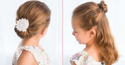 Hati-hati Ma, Ini Bahaya Mengikat Rambut Anak terlalu Kencang