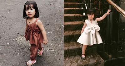Berbakat Jadi Model Cilik, Ini 11 Potret Lucu Alita Anak Alice Norin
