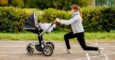 10 Gerakan Olahraga Bisa Dilakukan Bersama Bayi