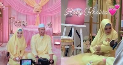 Belum Sembuh dari Sakit Kuning, Kartika Putri Rayakan Akikah Putrinya