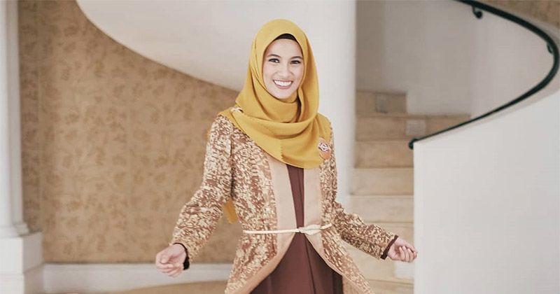4. Allysa mengingatkan penting memilih produk pembersih halal