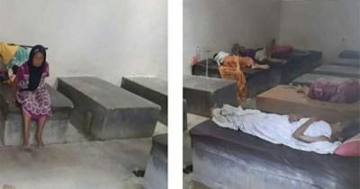 Miris Lansia Panti Jompo Ponorogo Tidur Atas Coron Semen