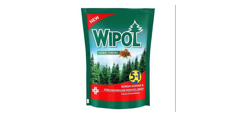 7. Wipol memiliki aroma khad ampuh basmi kuman