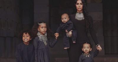 Super Sweet, Begini Romantisme Kim Kardashian Anak-anaknya