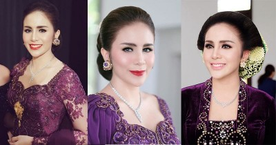 Pesona Momo Geisha Dalam Balutan Baju Tradisional Indonesia