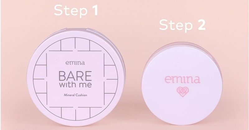 2. Emina Bare With Me Mineral Loose Powder