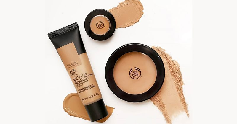 5. The Body Shop Matte Clay