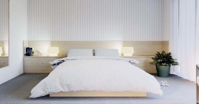 Nyaman Terlihat Simple 7 Inspirasi Kamar Tidur Minimalis