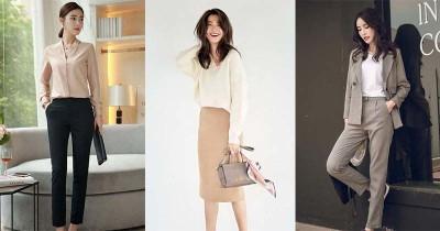 Inspirasi Work Outfit a la Korea untuk Mama yang Bekerja
