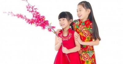 9 Model Baju Imlek Anak Perempuan Bernuansa Merah Cerah
