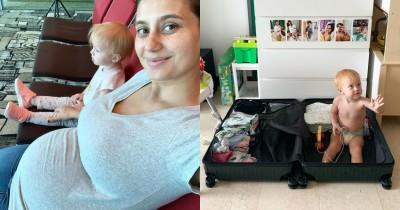 Hamil 6 Bulan, Marissa Nasution Masih Kuat Travelling Bersama Anak