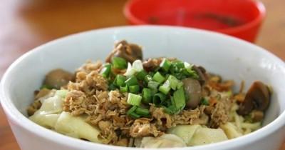 Resep Cara Membuat Mie Ayam Lezat, Praktis Mudah Dibuat