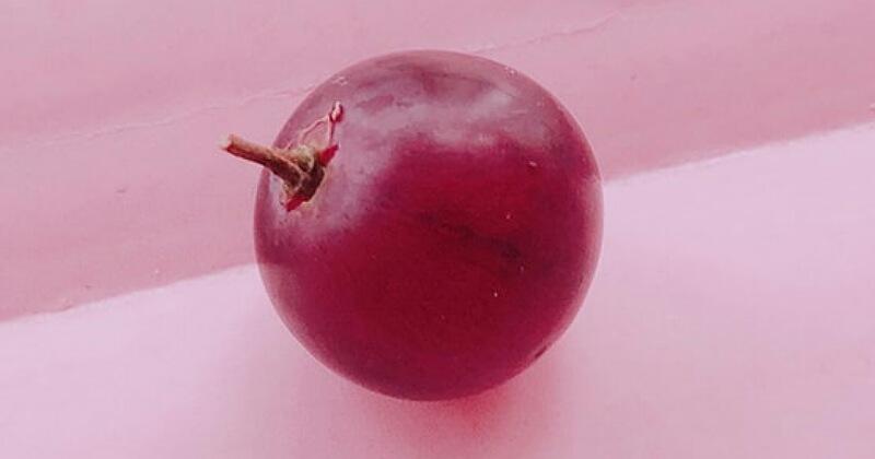 4. Red globe begitu renyah dancukup lembut saat dimakan