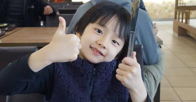 10 Potret Gemas Jeong Hyun-Jun, Pameran Da Song Parasite