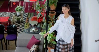 Nadia Mulya Luncurkan Busana Bernuansa Putih, Ini 5 Tips Padupadannya
