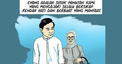 Ibunda Presiden Jokowi Dimakamkan, Gibran: Begitu Cepat Eyang Pergi