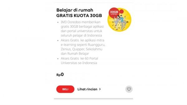 Cara Ubah Paket Edukasi Indosat Menjadi Kuota Utama Popmama Com