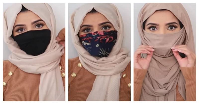 Kreasi Masker Untuk Perempuan Yang Berhijab Aman Tapi Tetap Stylish Popmama Com