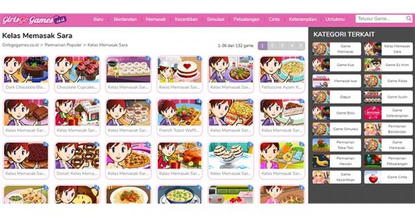 Belajar Masak Dengan Game Online Girlsgogames Popmama Com