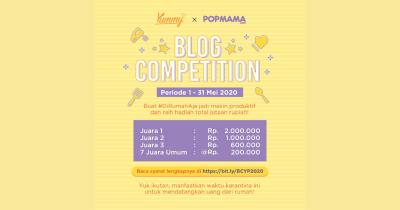 Ikuti Blog Competition Yummy x Popmama 2020 Menangkan Jutaan Rupiah