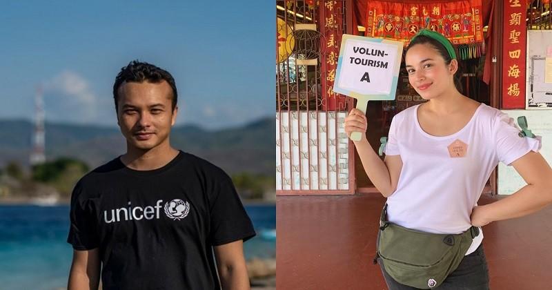 Nicholas Saputra Chelsea Islan Hadir Di Akademi Edukreator Popmama Com