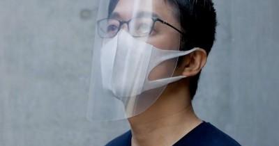 Kurang Yakin Masker Kain, Buat Sendiri Face Shield Rumah