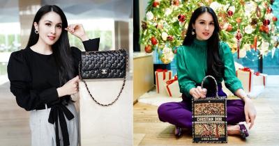 Khawatir Tabungan Habis, Ini 10 Investasi Tas Branded Sandra Dewi