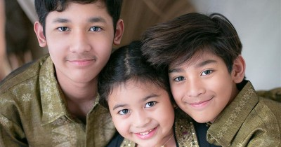 5 Kegiatan Seru Ketiga Anak Andre Taulany saat Berada DiRumahAja