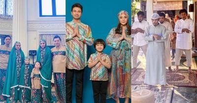 Selain Raffi Ahmad, 6 Artis Ini Juga Jalani Salat Idul Fitri Rumah