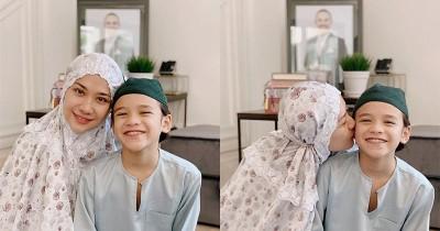 Lebaran Pertama Tanpa Suami, BCL Ditemani Noah dan Keluarga Ashraf