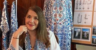 Tetap Aktif, Ghea Panggabean Dua Anak Luncurkan Koleksi Baru