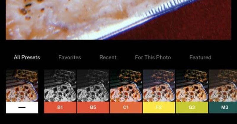 5. Eksplorasi berbagai fitur filter membuat foto makanan lebih menarik