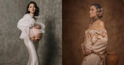 6 Gaya Seru Seleb Jalani Foto Maternity saat Pandemi Covid-19
