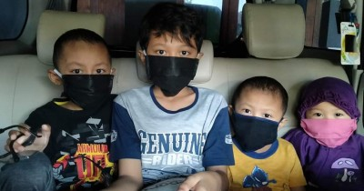 Kisah Haru Suami-Istri 3 Anak Positif Covid-19 Surabaya