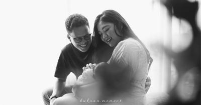 9 Potret Menggemaskan Ibrahim, Anak Pertama Arief Muhammad Tipang